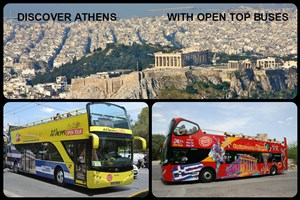 DISCOVER ATHENS WITH OPEN TOP BUSES